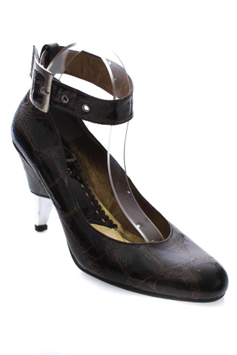 Zapatos Tacón color Café - Koker
