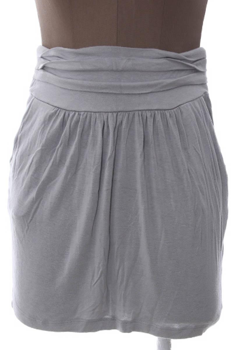 Falda Casual color Gris - Tresics