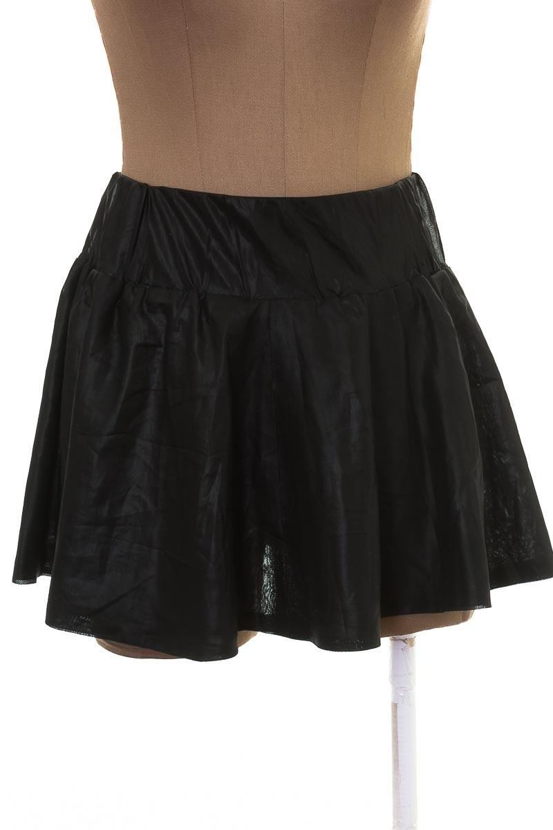 Falda Casual color Negro - Papaya