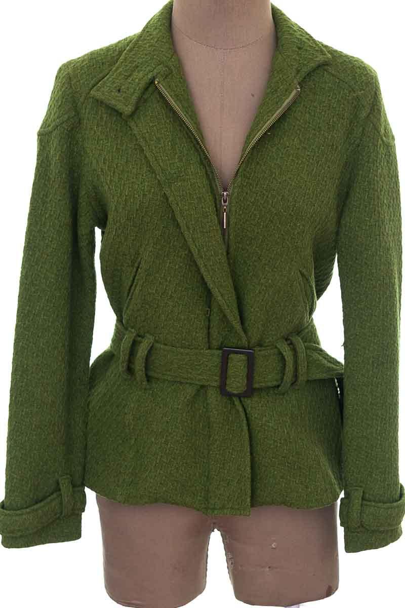 Chaqueta / Abrigo color Verde - Hot Line