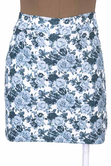 Falda Casual color Gris - Basicas