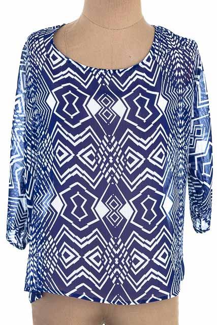 Blusa color Azul - Ticket