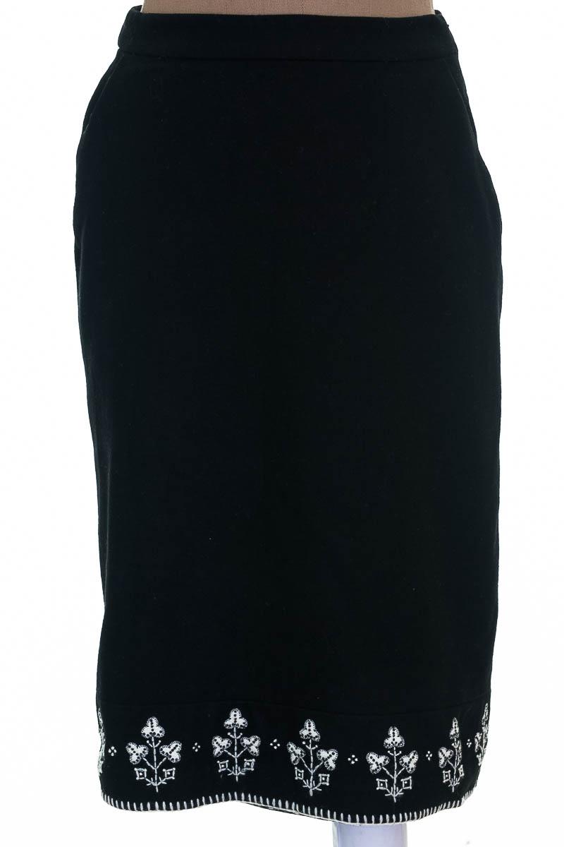 Falda color Negro - Ann Taylor