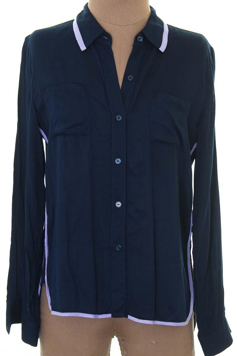 Blusa color Azul - NAF NAF