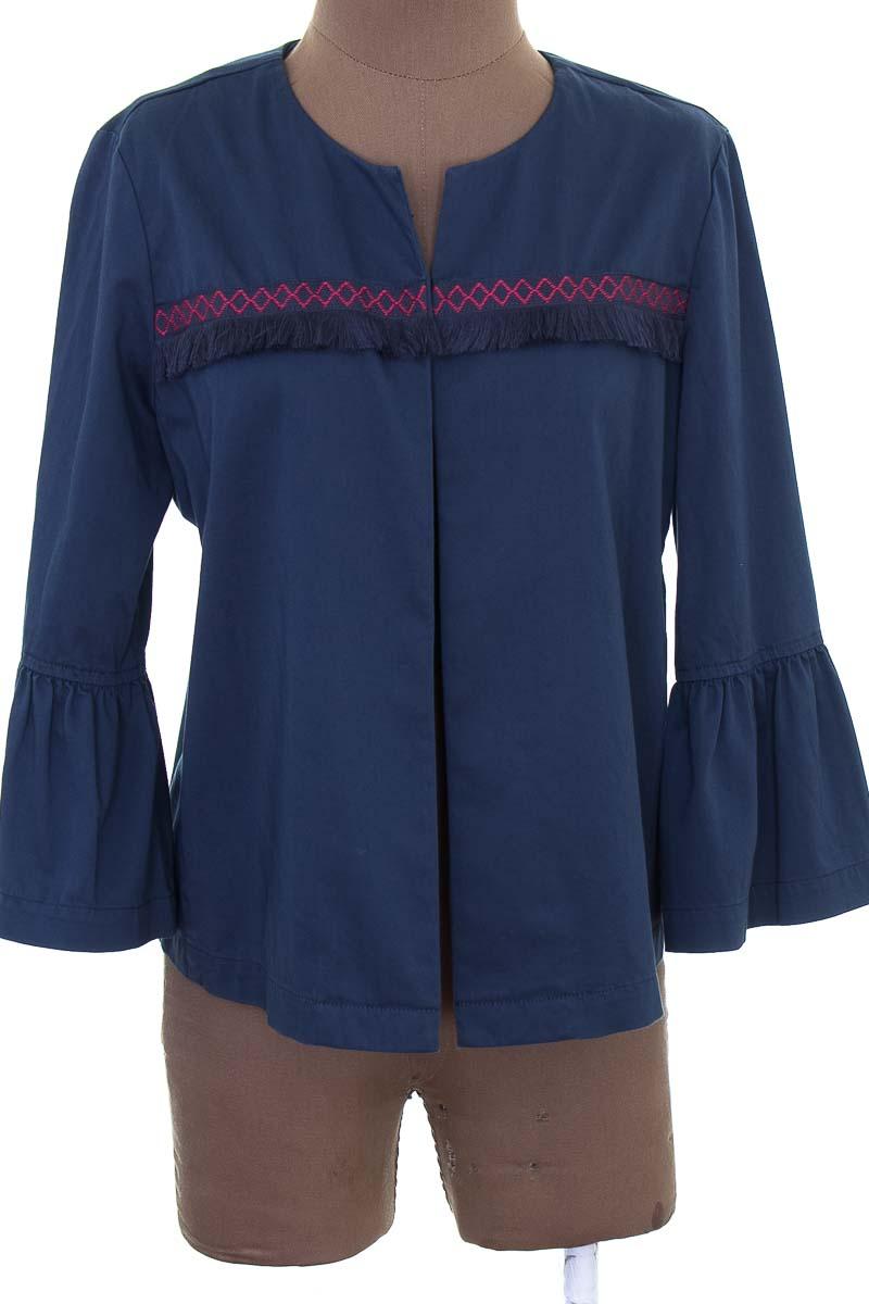 Chaqueta / Abrigo color Azul - Ann Taylor