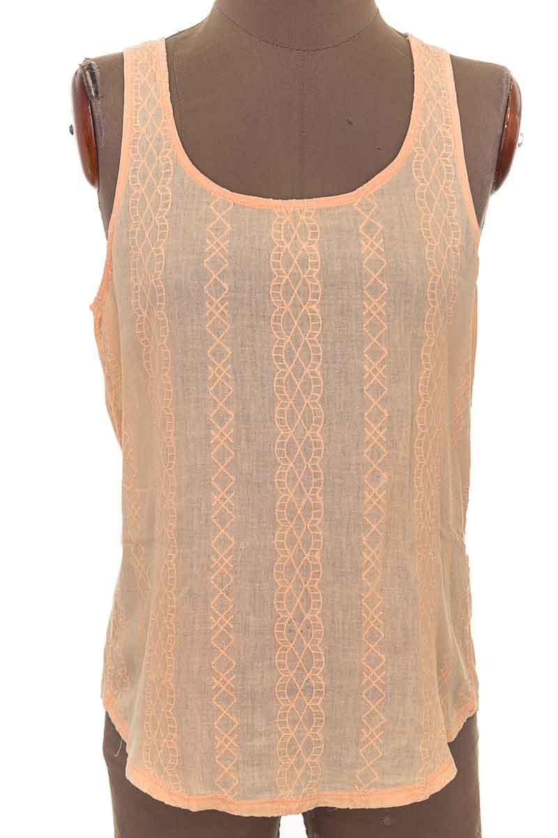 Top / Camiseta color Naranja - Lucky Brand