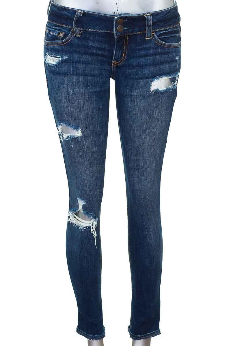 Pantalón Jeans color Azul - American Eagle
