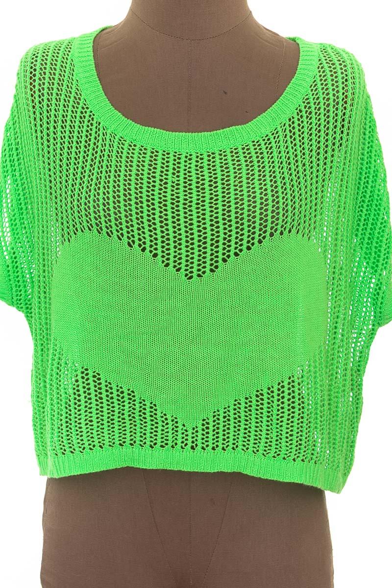 Sweater color Verde - Bu33