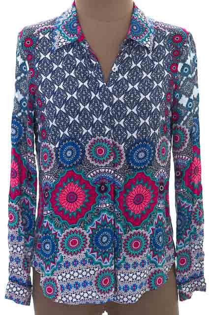 Blusa color Azul - Esprit
