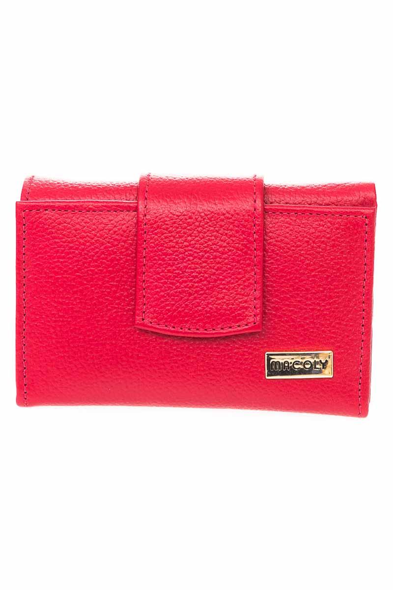 Cartera / Bolso / Monedero color Rojo - Macoly