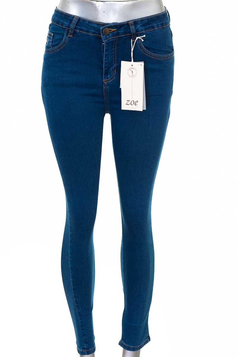 Pantalón Jeans color Azul - ZOE