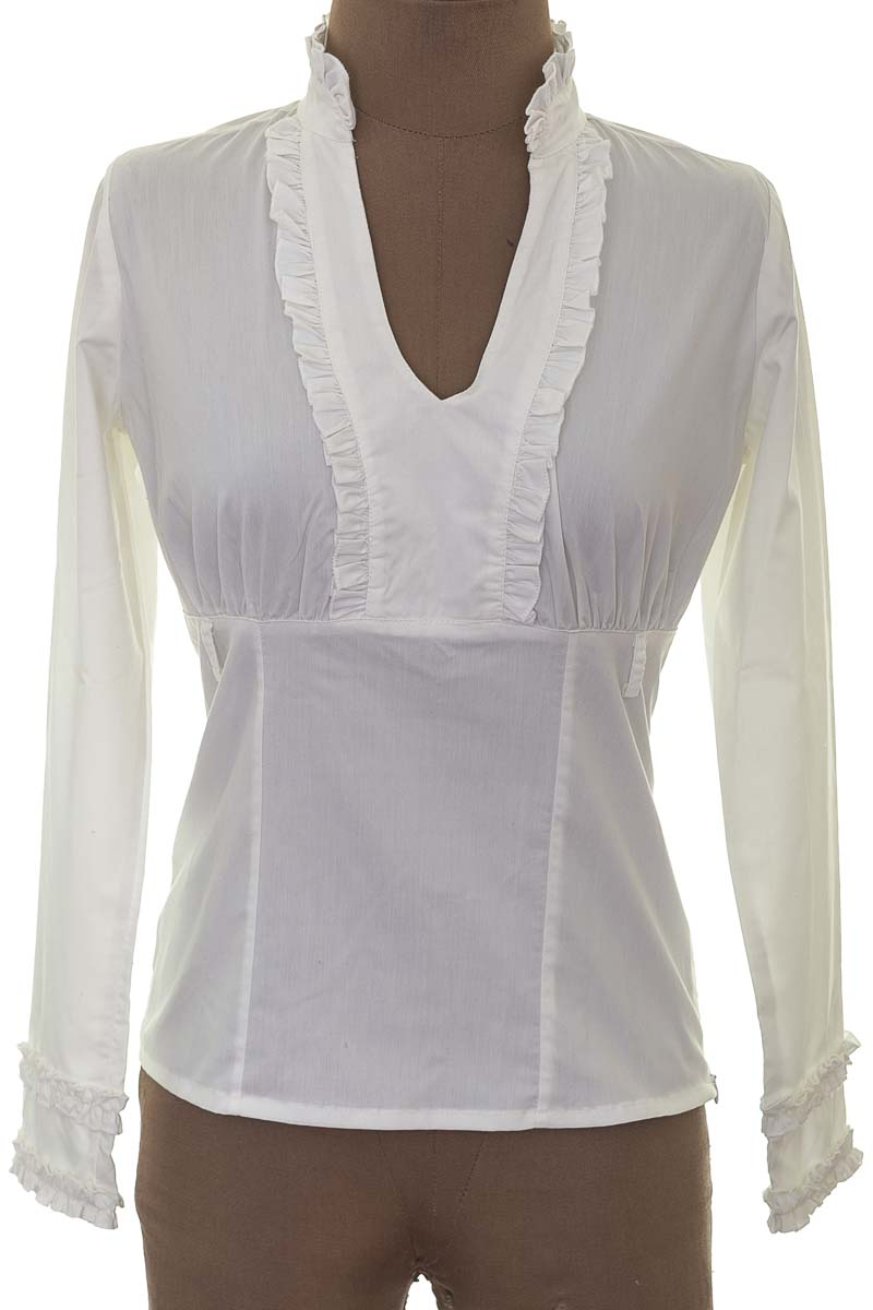 Blusa Formal color Blanco - Beso de Coco