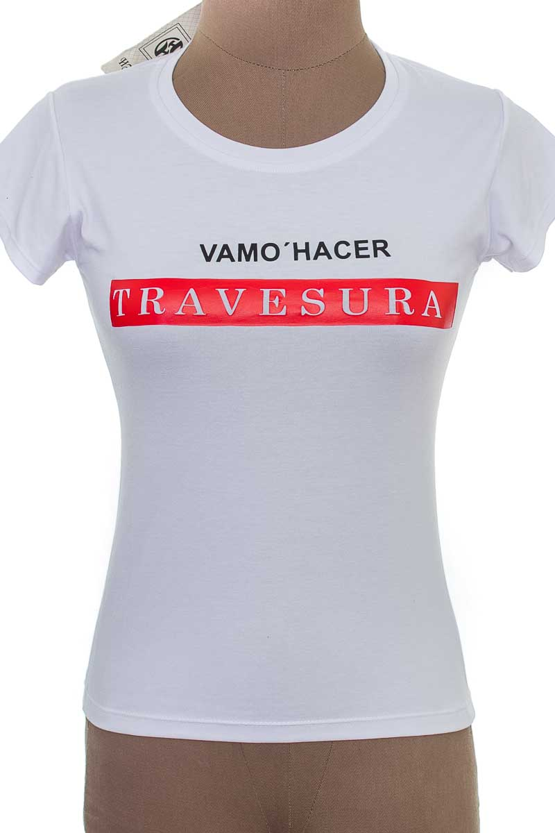 Top / Camiseta color Blanco - Closeando