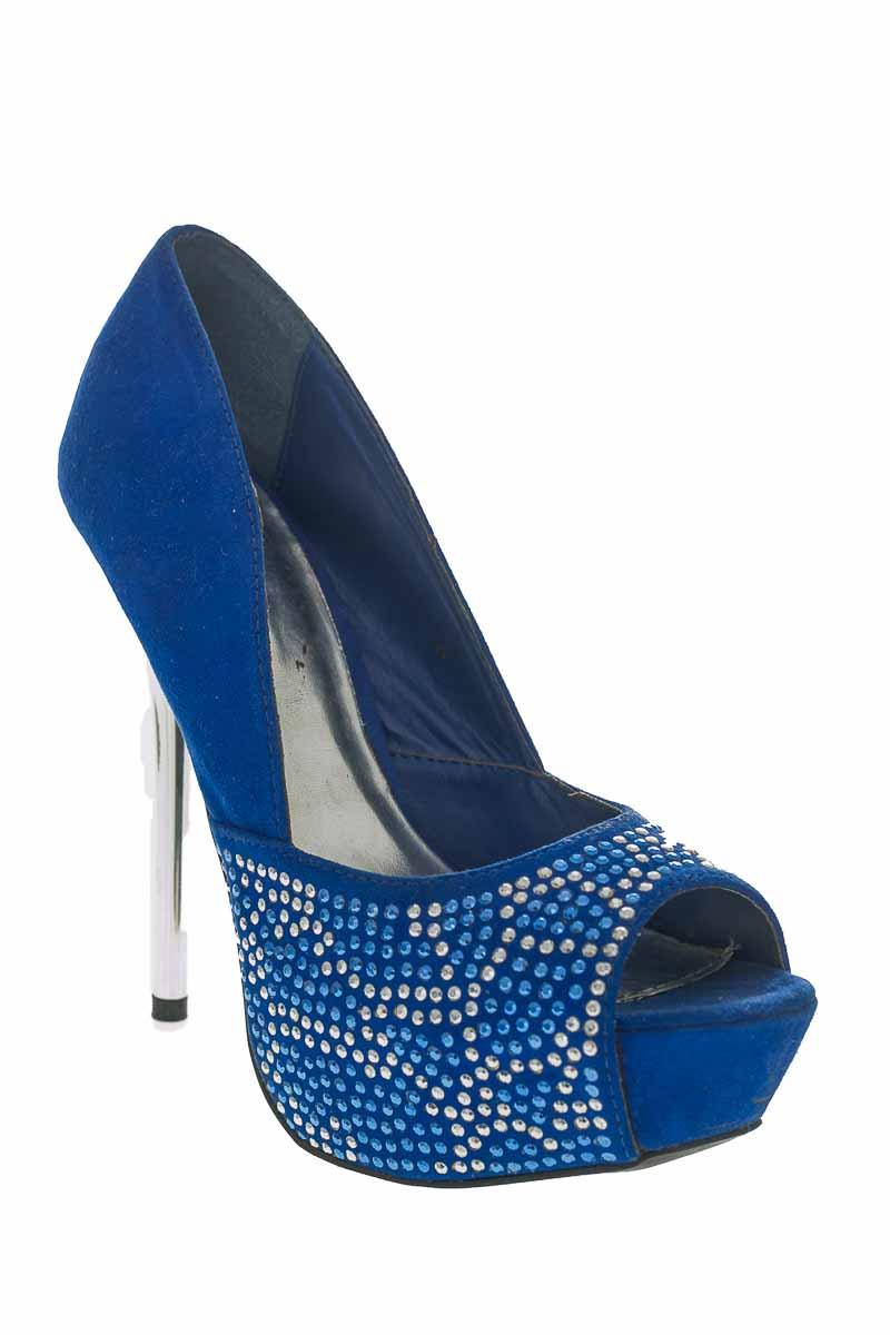 Zapatos Baleta color Azul - Qupid