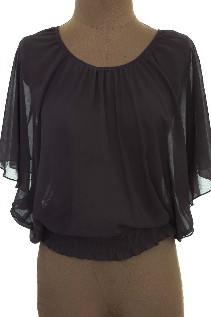 Blusa color Gris - Topnews
