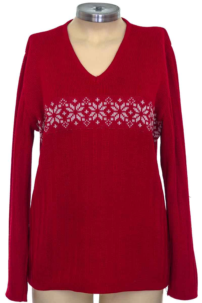Sweater color Rojo - Galia