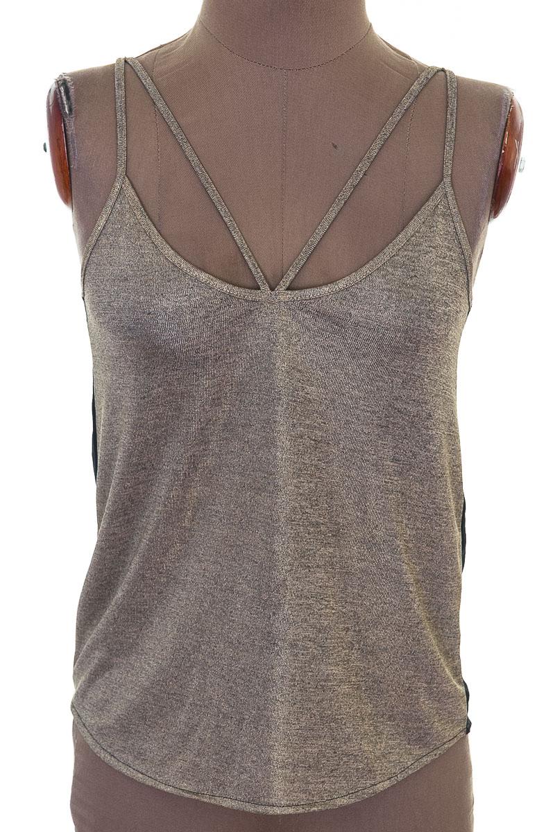 Top / Camiseta color Dorado - NAVISSI