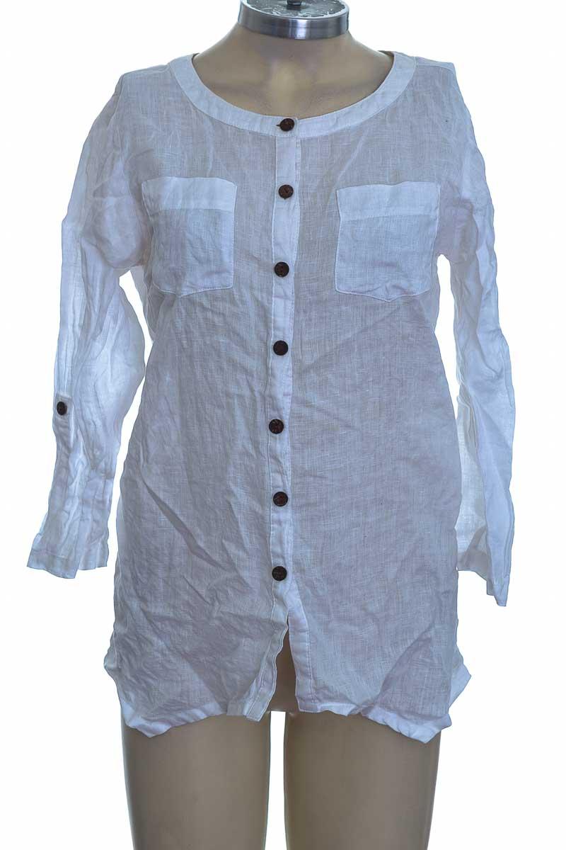 Blusa color Blanco - JM Collection