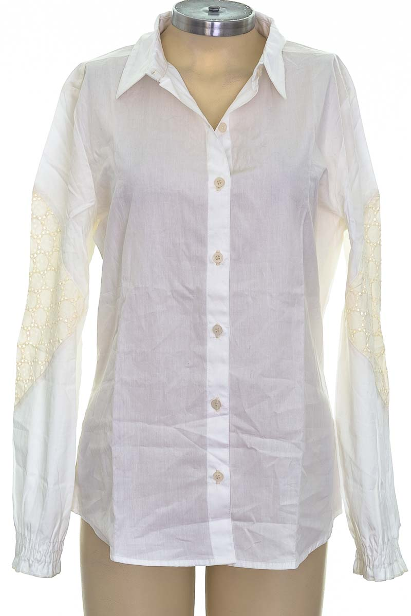 Blusa color Blanco - Loguin