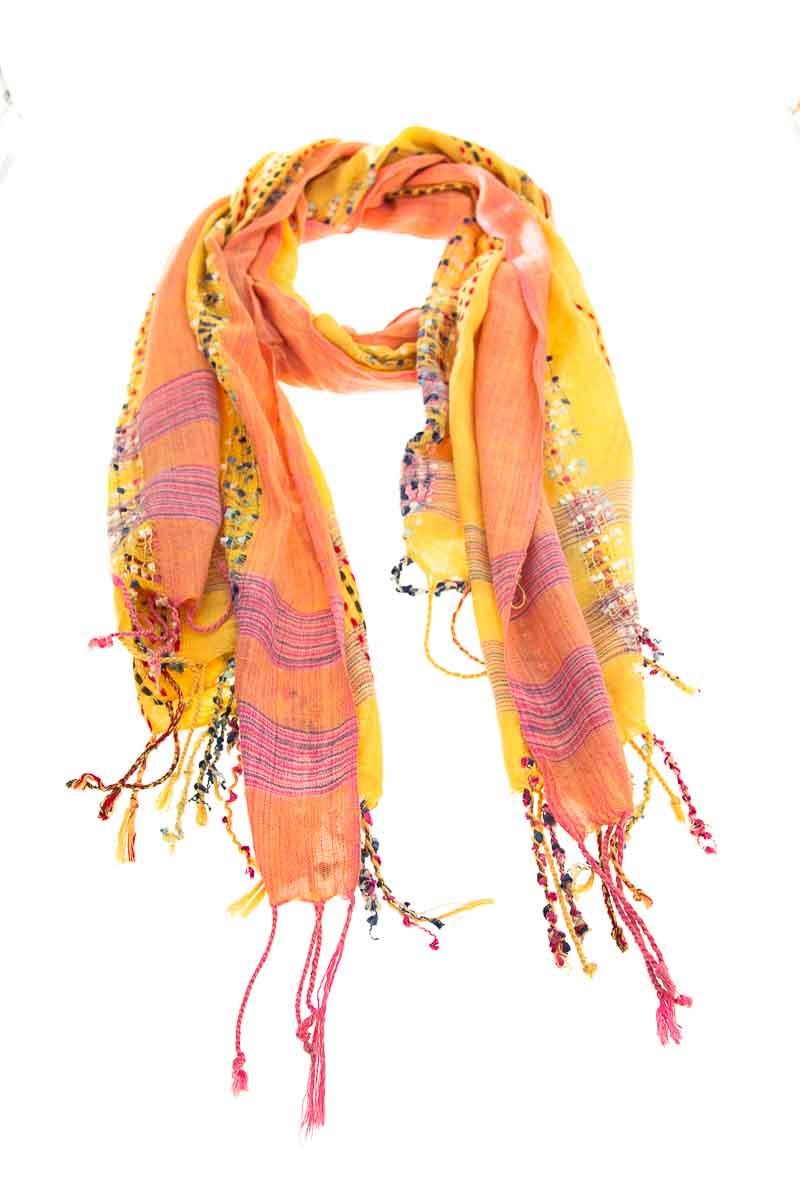 Accesorios Bufanda color Amarillo - Closeando