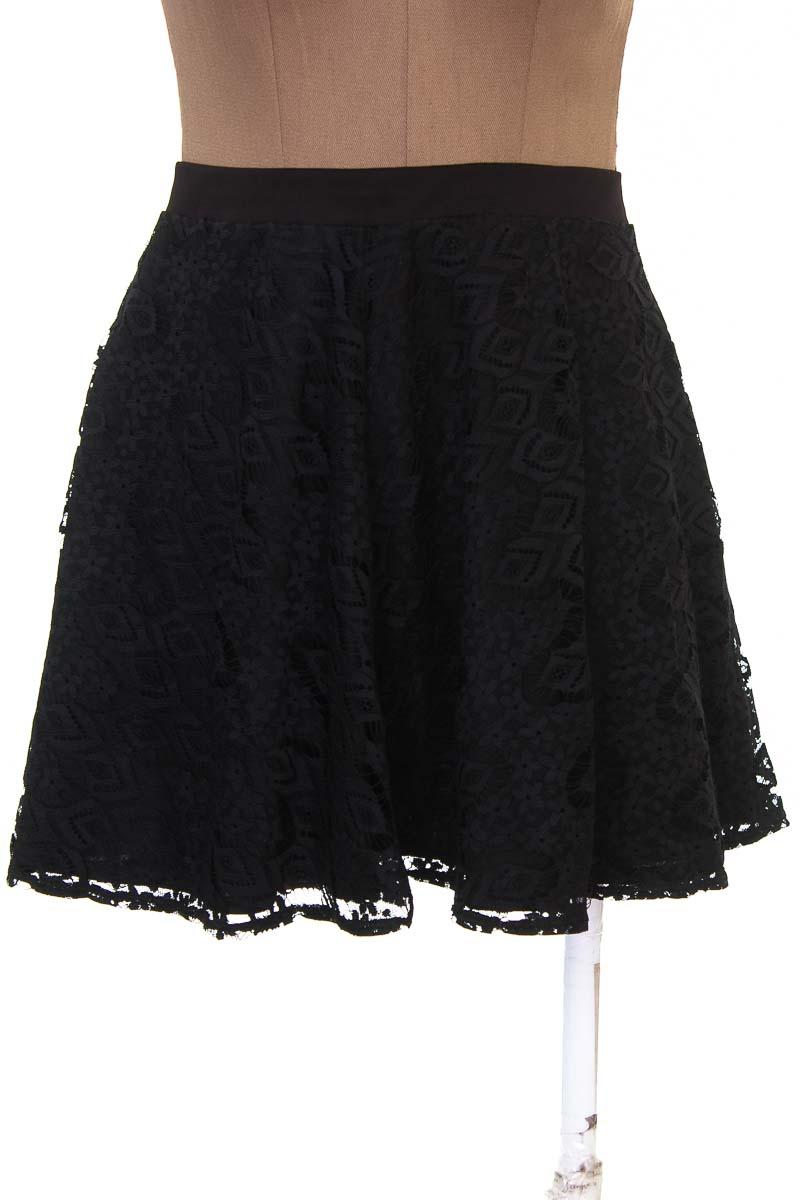 Falda Casual color Negro - Ritchi