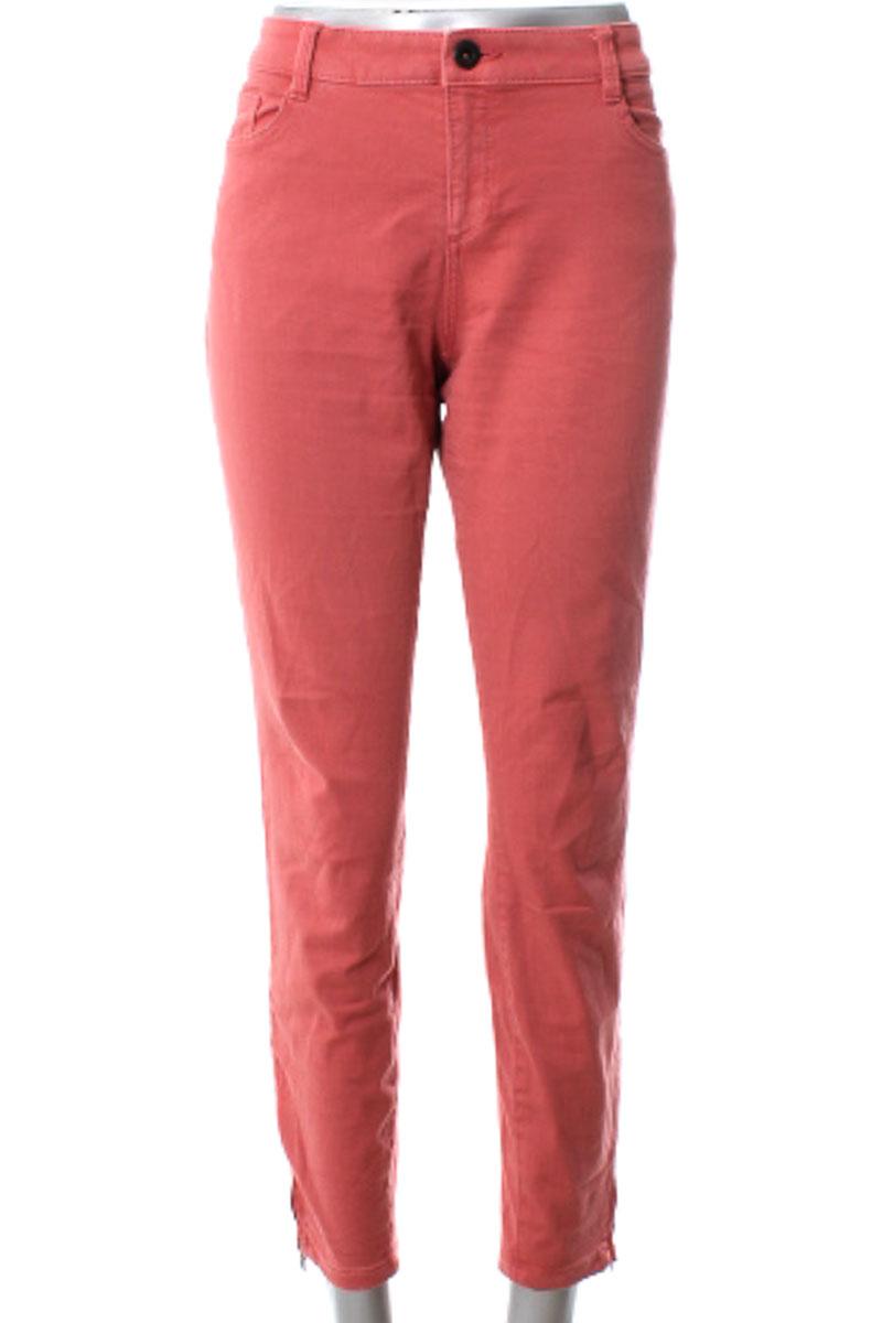 Pantalón color Rosado - Esprit