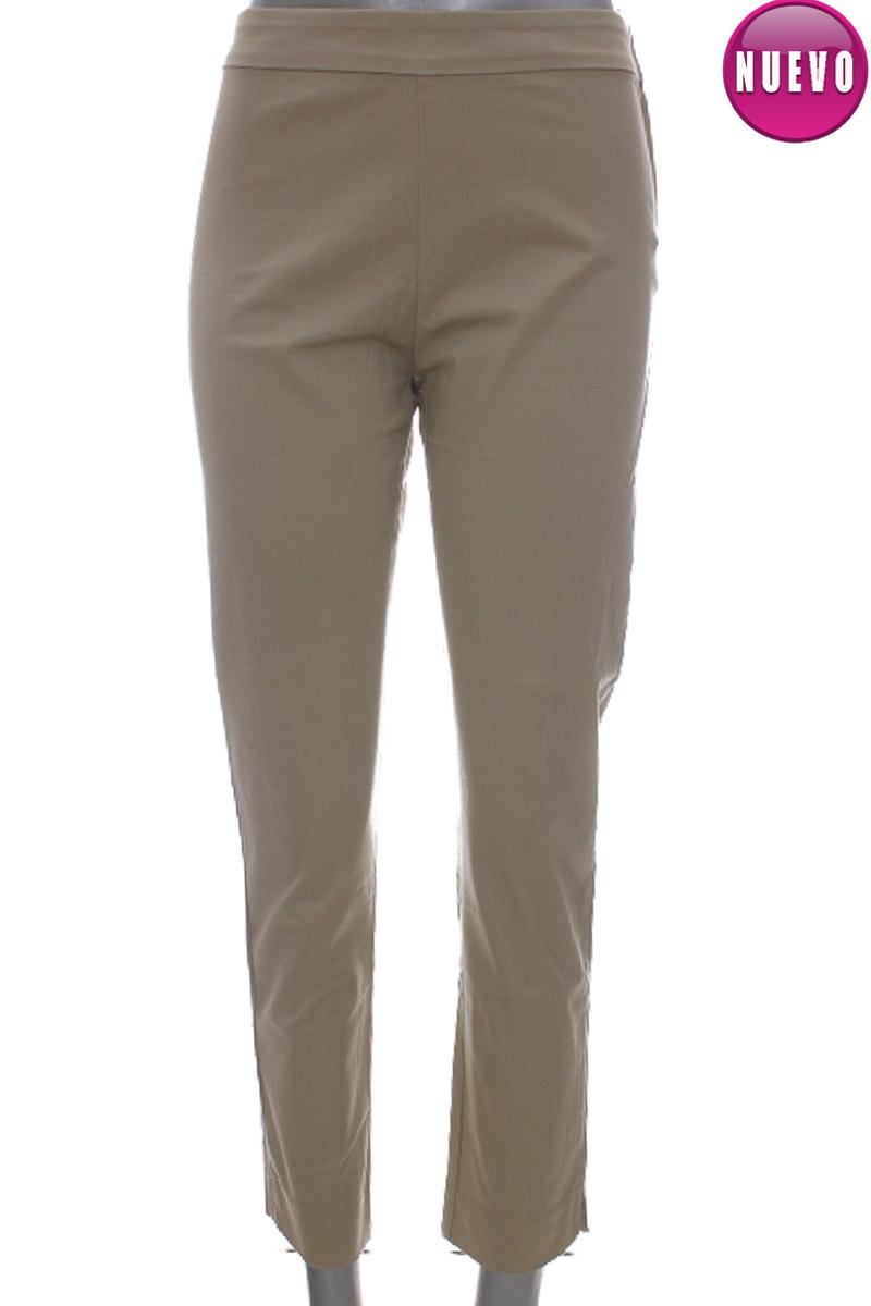 Pantalón color Beige - VICTOR DEL PERAL
