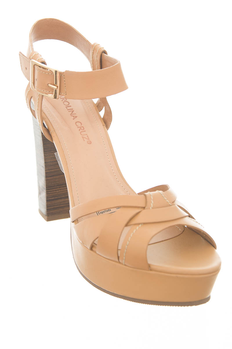 Zapatos color Beige - Carolina Cruz