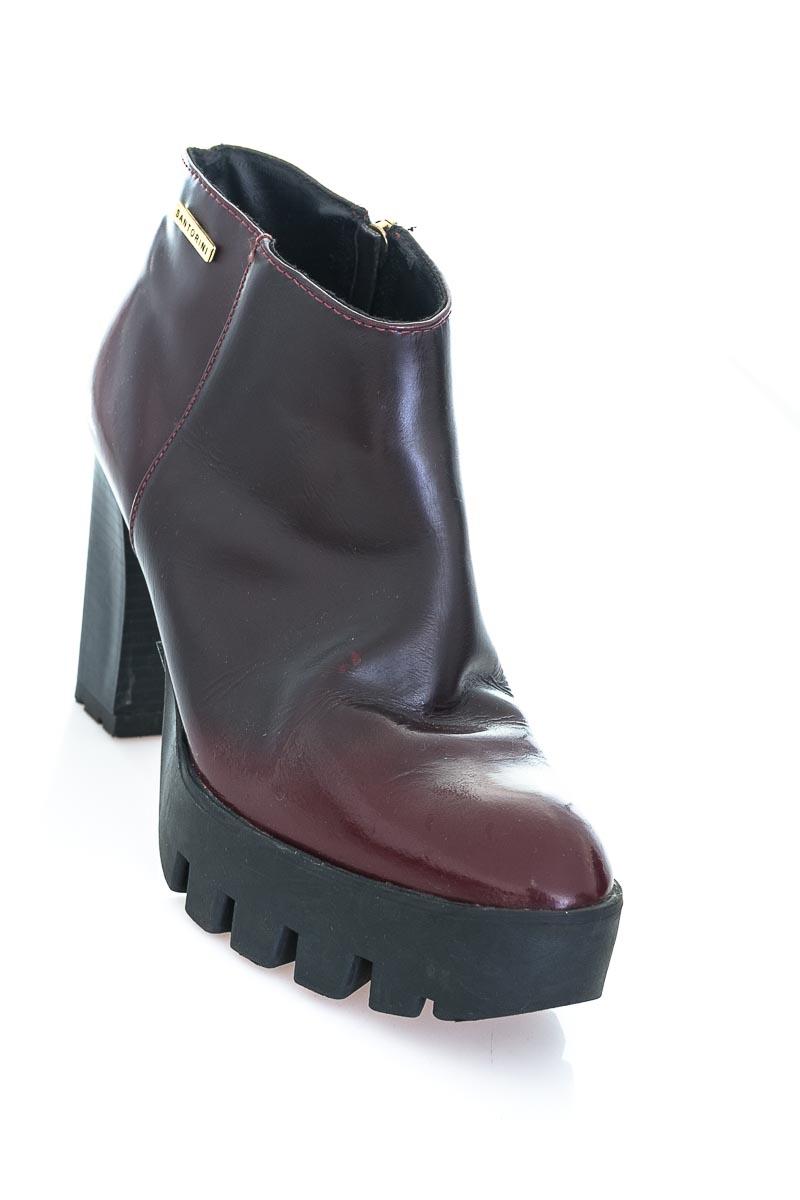 Zapatos color Vinotinto - Santorini