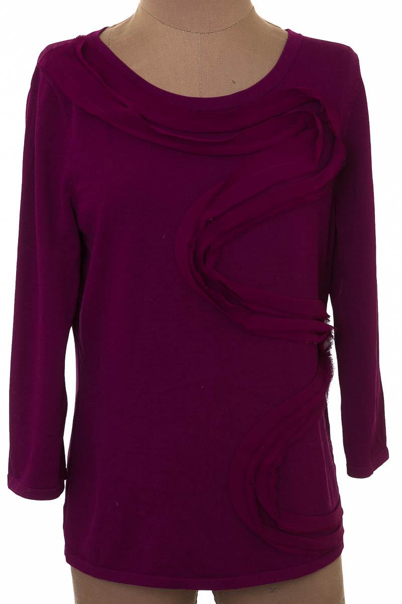Sweater color Morado - Cable & Gauge