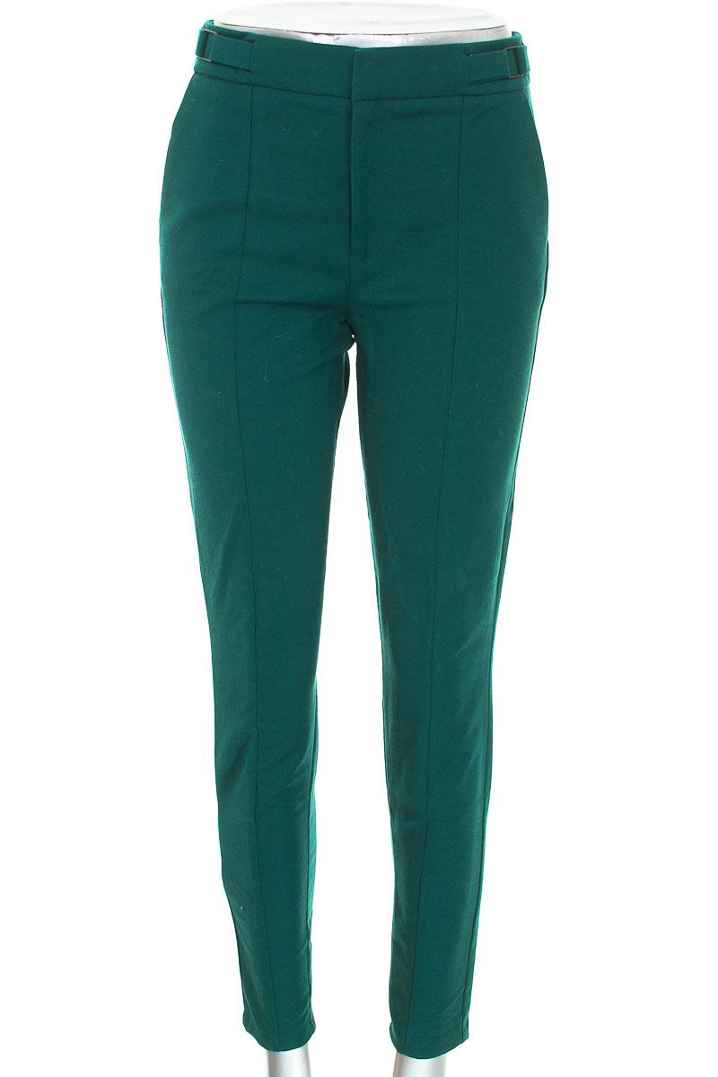 Pantalón color Verde - NAF NAF