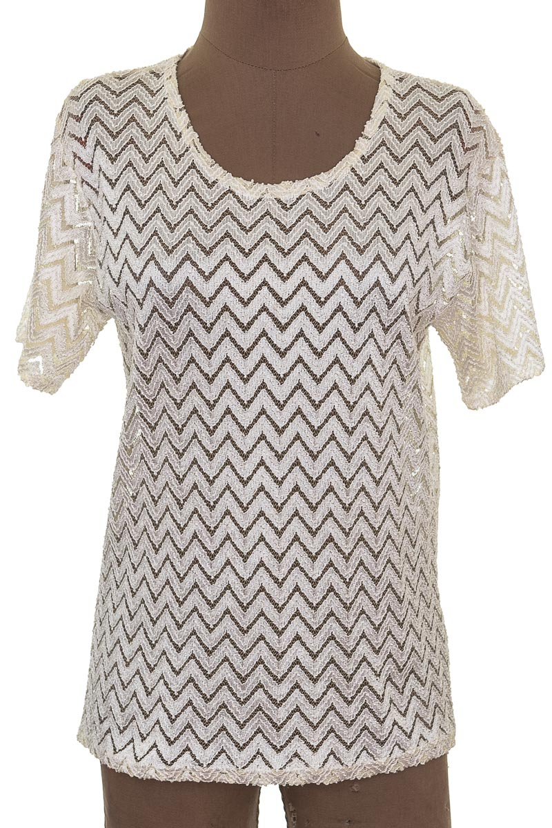 Blusa Formal color Beige - Closeando