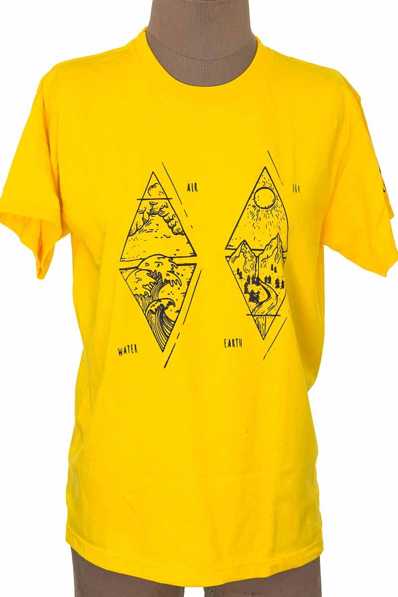 Top / Camiseta color Amarillo - POSITEX