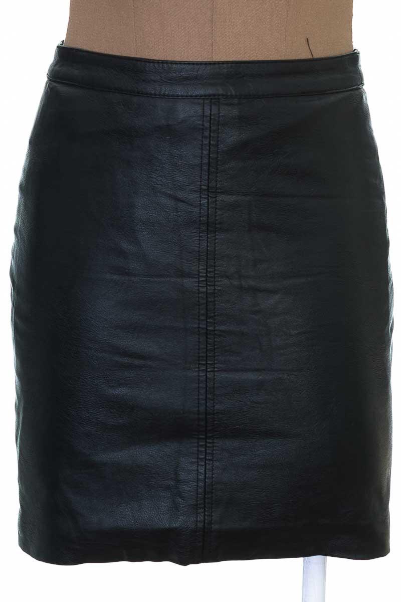 Falda Casual color Negro - H&M