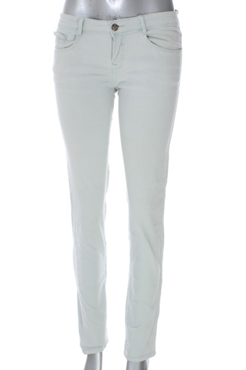 Pantalón Jeans color Blanco - Core Jeans