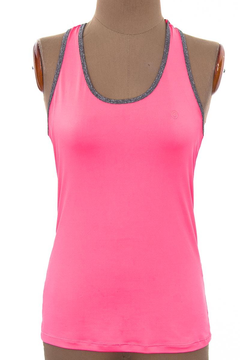 Ropa Deportiva / Salida de Baño Camiseta color Rosado - Facol