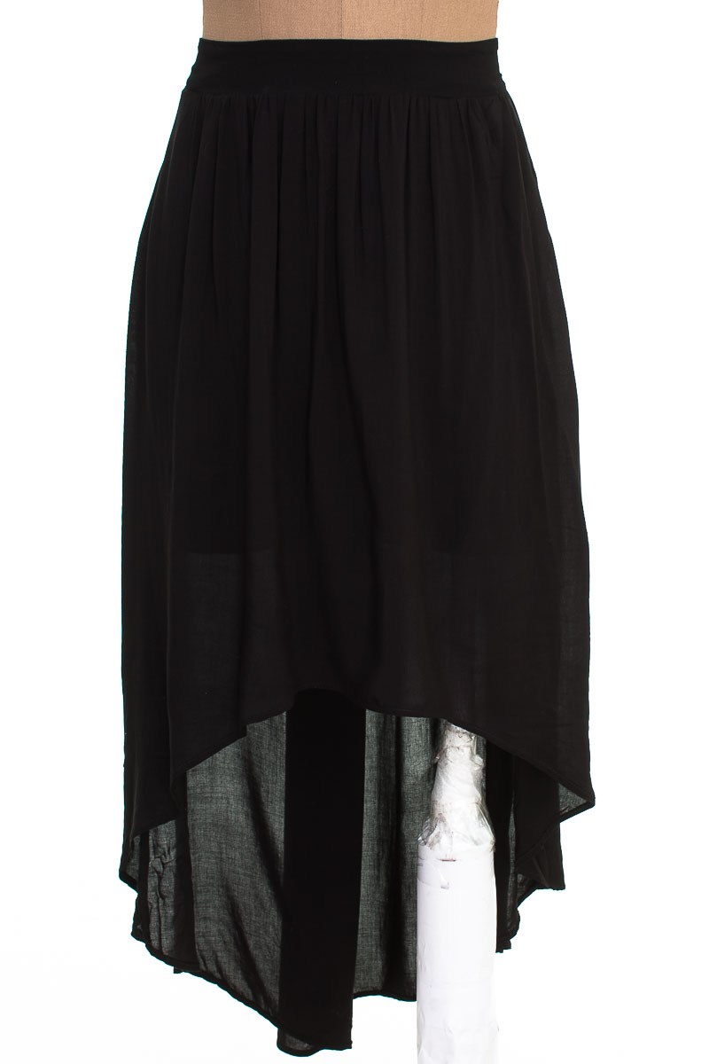 Falda Casual color Negro - Basement