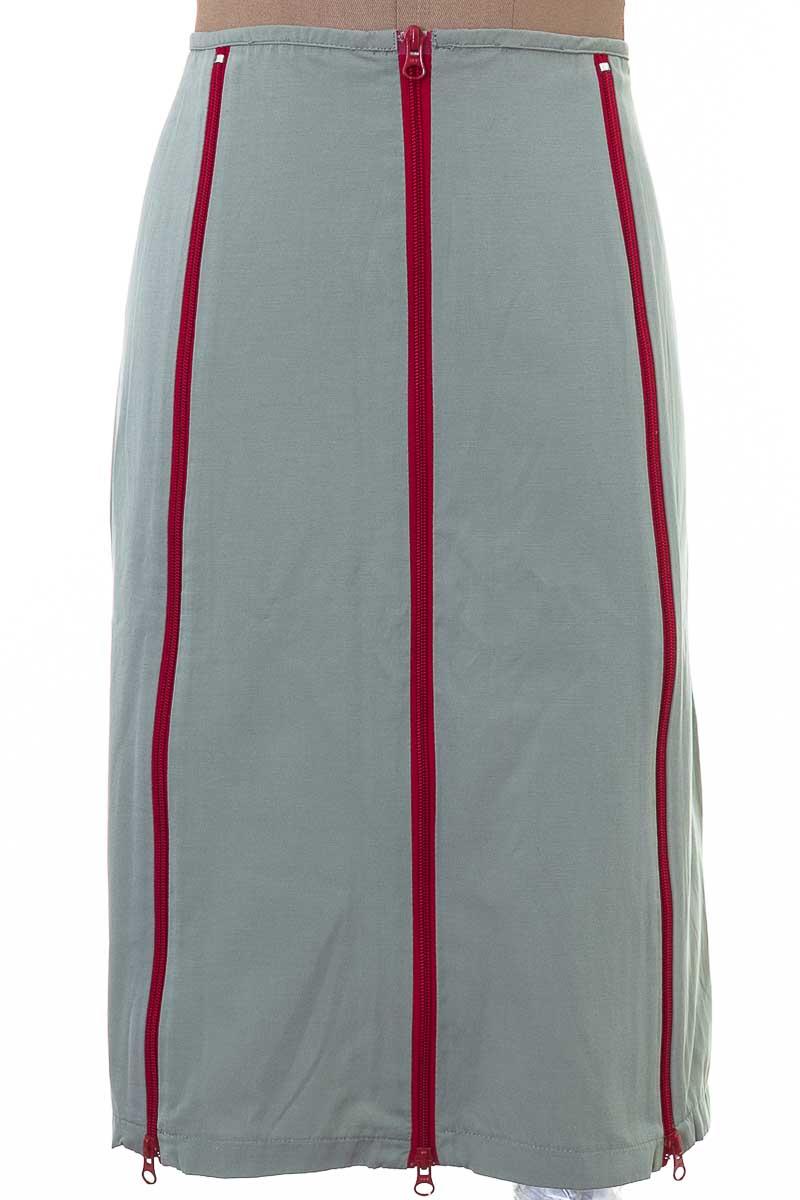 Falda Elegante color Gris - SKFK