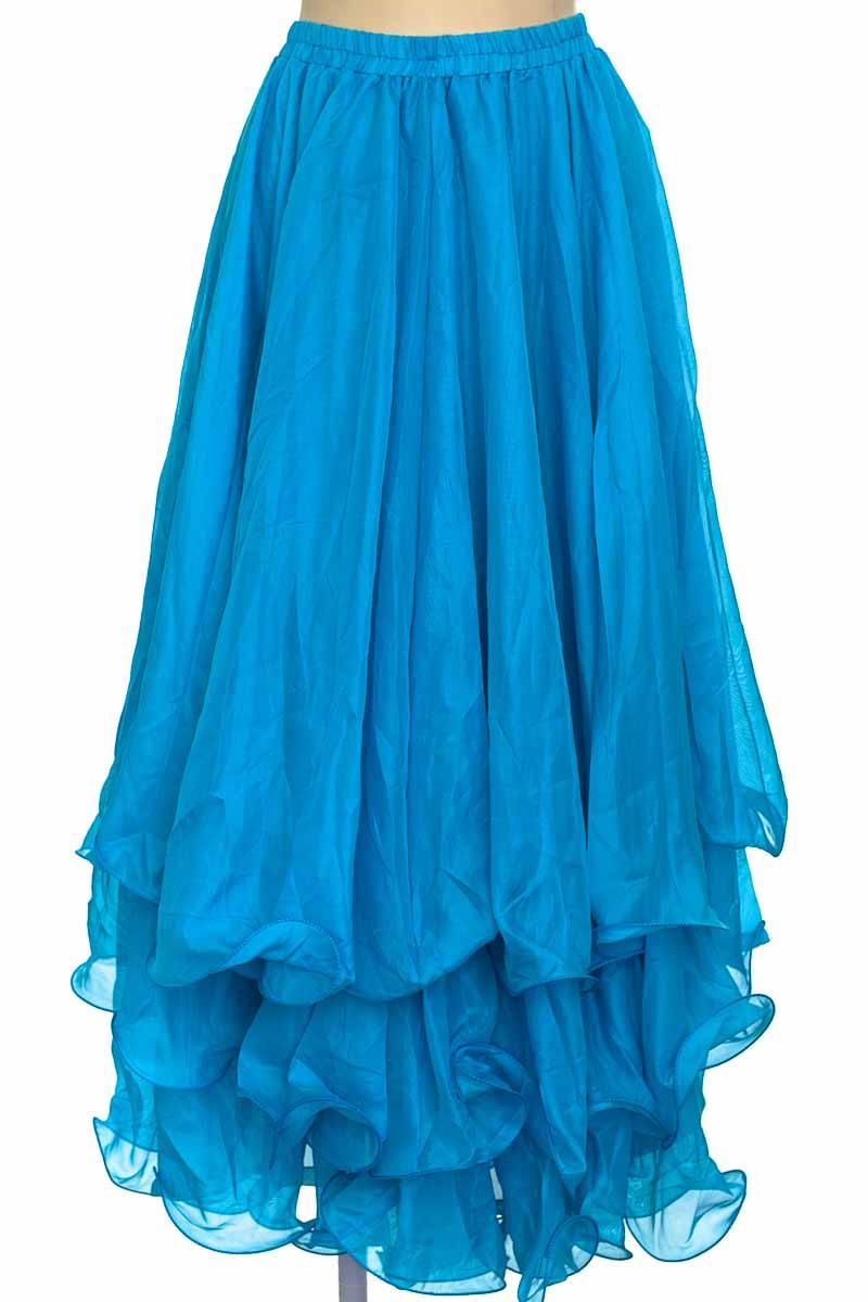 Falda color Azul - Closeando