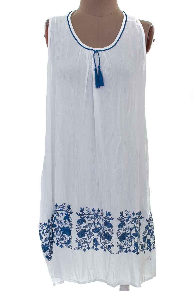 Vestido / Enterizo Casual color Blanco - Esprit