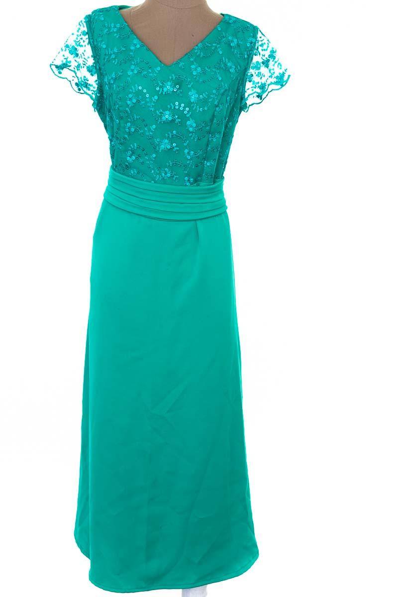 Vestido / Enterizo Fiesta color Verde - Closeando