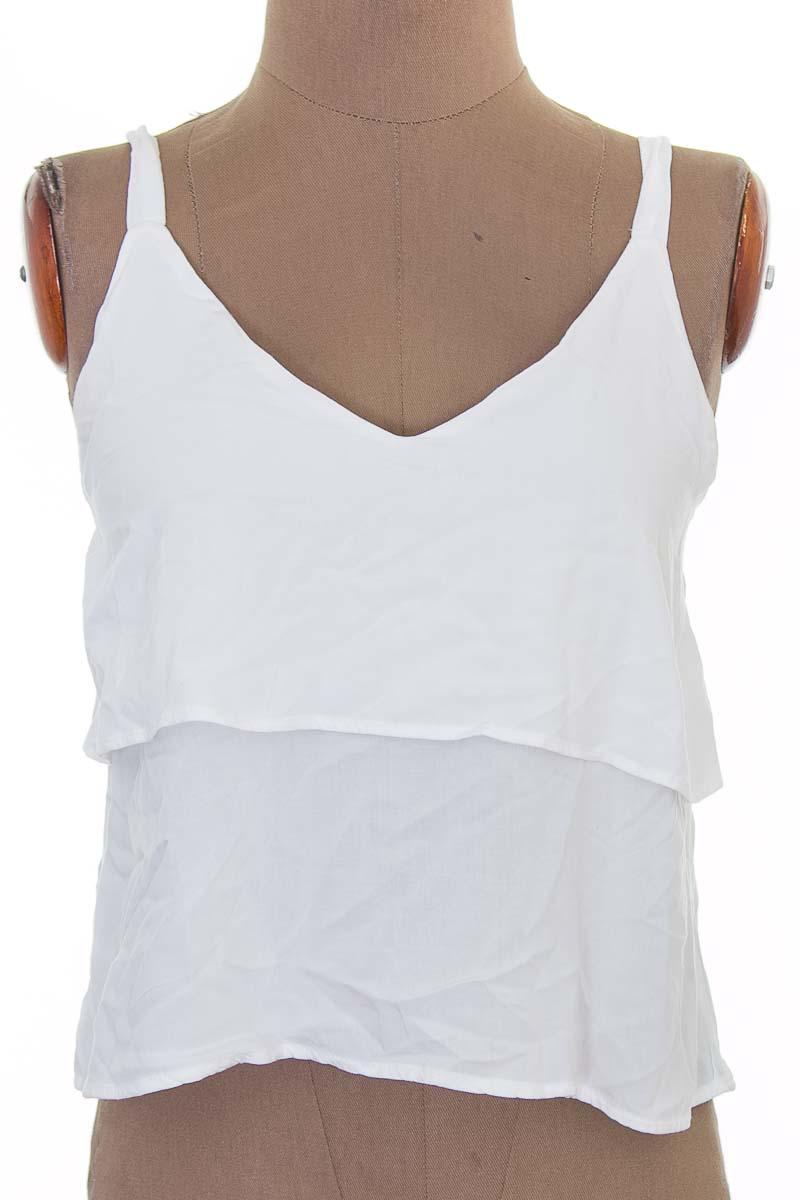 Top / Camiseta color Blanco - Gef