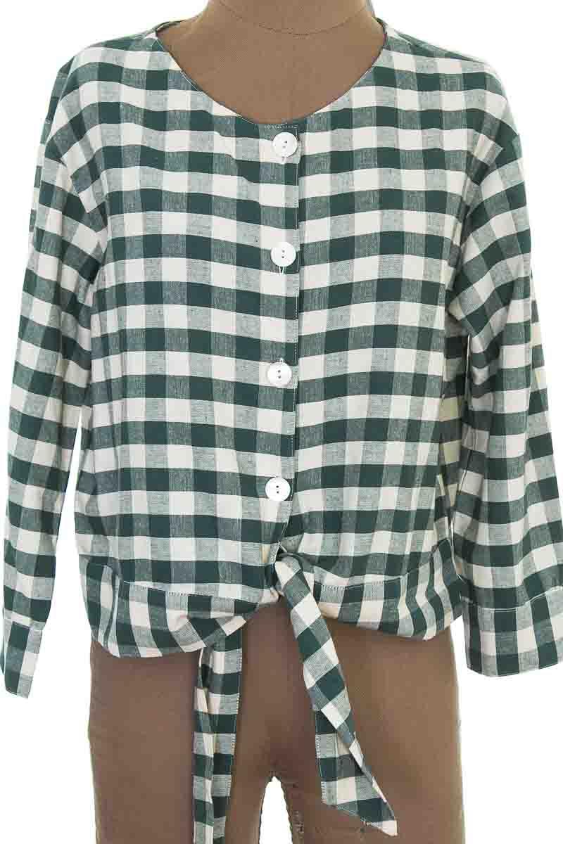 Blusa color Verde - MNG
