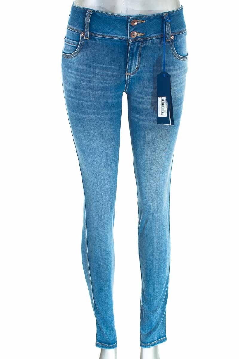 Pantalón Jeans color Azul - Studio F