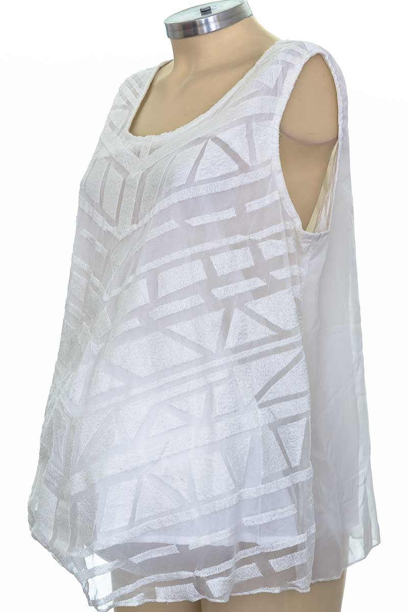 Blusa color Blanco - Futuremon