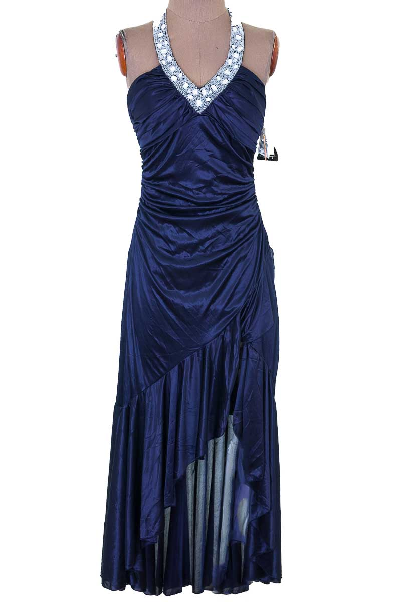Vestido / Enterizo color Azul - City triangles
