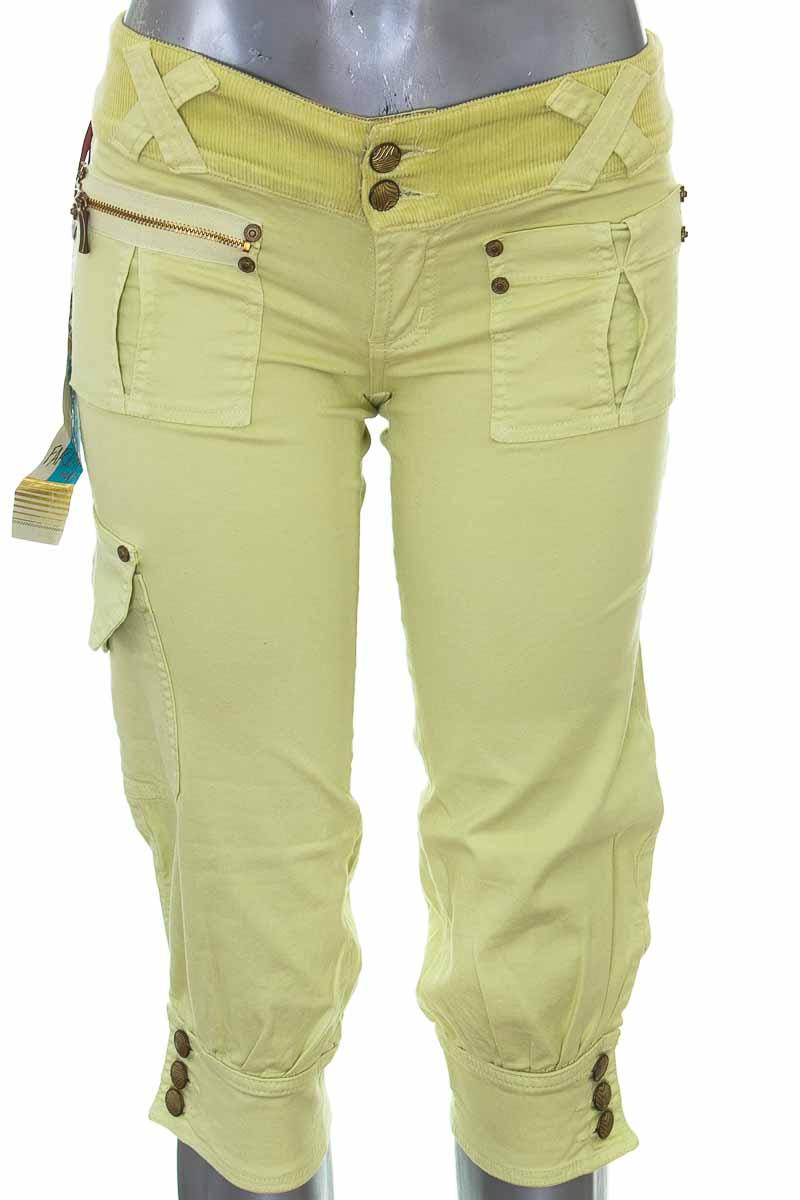 Pantalón color Amarillo - Farichi Studio