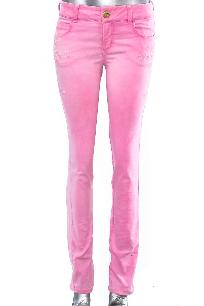 Pantalón Jeans color Rosado - Studio F