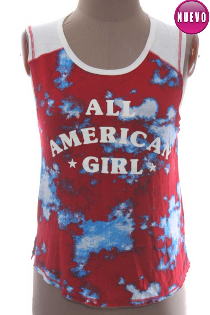 Blusa color Rojo - About a girl