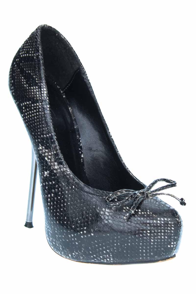 Zapatos Tacón color Negro - ELA